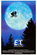"Movie Posters:Science Fiction, E.T. The Extra-Terrestrial (Universal, 1982). One Sheet (26.75"" X40.5"") Bicycle Style.. ..."