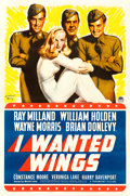 """Movie Posters:War, I Wanted Wings (Paramount, 1941). One Sheet (27"""" X 41"""") Style B,McClelland Barclay Artwork.. ..."""