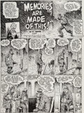 Original Comic Art:Complete Story, Robert Crumb Weirdo #22 Complete 4-Page Story Original Art (Last Gasp, 1988).... (Total: 4 Original Art)