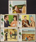 "Movie Posters:James Bond, Dr. No (United Artists, 1962). Lobby Cards (5) (11"" X 14""). JamesBond.. ... (Total: 5 Items)"