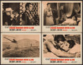 """Movie Posters:James Bond, From Russia with Love (United Artists, 1964). Lobby Cards (4) (11"""" X 14""""). James Bond.. ... (Total: 4 Items)"""