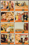 """Movie Posters:Foreign, Topkapi (United Artists, 1964). Lobby Card Set of 8 (11"""" X 14""""). Foreign.. ... (Total: 8 Items)"""