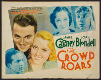 "The Crowd Roars (Warner Brothers - Vitagraph, 1932). Title Lobby Card (11"" X 14""). Sports"