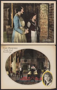 """Through the Back Door & Other Lot (United Artists, 1921). Lobby Cards (2) (11"""" X 14""""). Drama. ... (Tot..."""