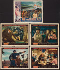 "Movie Posters:Science Fiction, Them! & Other Lot (Warner Brothers, 1954). Lobby Cards (5) (11""X 14""). Science Fiction.. ... (Total: 5 Items)"