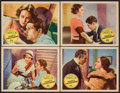 "Movie Posters:Romance, Perfect Understanding (United Artists, 1933). Lobby Cards (4) (11""X 14""). Romance.. ... (Total: 4 Items)"