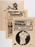 Magazines:Fanzine, The Comic World Group of 25 (Robert Jennings, 1970s) Condition: VF/NM.... (Total: 25 Comic Books)