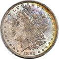 Morgan Dollars, 1882-O/S $1 Broken, VAM-5, MS65 PCGS....