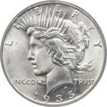 Peace Dollars, 1935 $1 MS66+ PCGS. CAC....