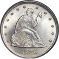 Twenty Cent Pieces, 1876 20C MS67 PCGS. CAC....