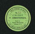 Obsoletes By State:South Dakota, Oldham, SD- P(eter) Christensen 50¢ ND. ...