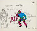 Animation Art:Color Model, He-Man Trap Jaw Color Model Cel (Filmation, 1983). ...