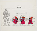 Animation Art:Color Model, He-Man Orko Color Model Cel (Filmation, 1983). ...