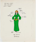 Animation Art:Color Model, He-Man Queen Marlena Color Model Cel (Filmation, 1983). ...