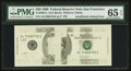 Error Notes:Missing Magnetic Ink, Fr. 2084-L $20 1996 Federal Reserve Note. PMG Gem Uncirculated 65EPQ.. ...