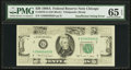 Error Notes:Missing Magnetic Ink, Fr. 2076-G $20 1988A Federal Reserve Note. PMG Gem Uncirculated 65EPQ.. ...