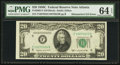 Error Notes:Mismatched Serial Numbers, Fr. 2062-F $20 1950C Federal Reserve Note. PMG Choice Uncirculated 64 EPQ.. ...