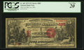 National Bank Notes:Massachusetts, Lee, MA - $5 1875 Fr. 402 The Lee NB Ch. # 885. ...