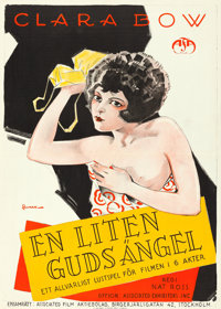 """Two Can Play (Associated Exhibitors, 1926). Swedish One Sheet (28"""" X 39"""") Eric Rohman Artwork"""