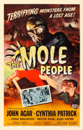 """Movie Posters:Science Fiction, The Mole People (Universal International, 1956). One Sheet (27"""" X41"""") Reynold Brown Artwork.. ..."""