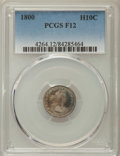 Early Half Dimes: , 1800 H10C Fine 12 PCGS. PCGS Population: (15/262). NGC Census:(4/128). CDN: $1,800 Whsle. Bid for problem-free NGC/PCGS Fi...