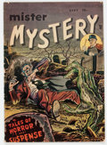 Golden Age (1938-1955):Horror, Mister Mystery #1 (Aragon, 1951) Condition: VG+....