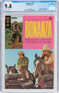Silver Age (1956-1969):Western, Bonanza #31 (Gold Key, 1969) CGC NM 9.4 Off-white to white pages....