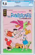 Bronze Age (1970-1979):Cartoon Character, Flintstones #58 (Gold Key, 1970) CGC NM+ 9.6 Off-white pages....