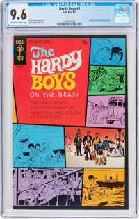 Hardy Boys #1 (Gold Key, 1970) CGC NM+ 9.6 Off-white to white pages