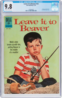 Leave It to Beaver #01-428-207 (Dell, 1962) CGC NM/MT 9.8 Off-white to white pages
