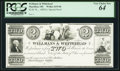 Obsoletes By State:Ohio, Massillon, OH - Wellmans & Whitehead $2 18__ Special Proof. ...
