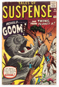 Silver Age (1956-1969):Horror, Tales of Suspense #15 (Marvel, 1961) Condition: VG....
