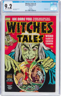 Golden Age (1938-1955):Horror, Witches Tales #3 File Copy (Harvey, 1951) CGC NM- 9.2 Cream to off-white pages....