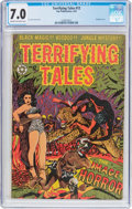 Golden Age (1938-1955):Horror, Terrifying Tales #12 (Star Publications, 1953) CGC FN/VF 7.0 Creamto off-white pages....