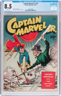 Golden Age (1938-1955):Superhero, Captain Marvel Jr. #24 (Fawcett Publications, 1944) CGC VF+ 8.5 Off-white pages....