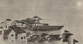 Asian:Japanese, A Group of Three Japanese Ink on Rice Paper Landscape Paintings.9-1/2 x 18 inches (24.1 x 45.7 cm) (largest, sheet). ... (Total: 3Items)
