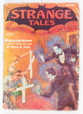 Pulps:Horror, Strange Tales V3#1 (Clayton, 1933) Condition: GD....