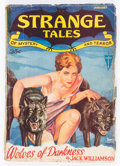 Pulps:Horror, Strange Tales V1#3 (Clayton, 1932) Condition: GD....