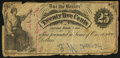 Obsoletes By State:Ohio, Independence, OH- Unknown Issuer 25¢ ND (ca. 1862) Remainder. ...