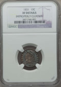 Bust Dimes: , 1831 10C -- Improperly Cleaned -- NGC Details. XF. NGC Census: (10/246). PCGS Population: (25/337). CDN: $220 Whsle. Bid fo...