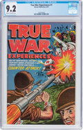 Golden Age (1938-1955):War, True War Experiences #1 (Harvey, 1952) CGC NM- 9.2 Cream tooff-white pages....
