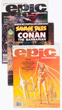 Marvel Magazines Group of 21 (Marvel, 1970s) Condition: Average VF.... (Total: 21 Comic Books)