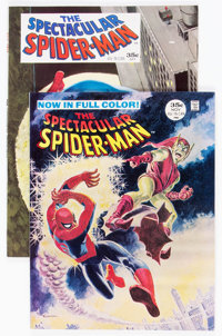 Spectacular Spider-Man #1 and 2 Group (Marvel, 1968) Condition: Average VF.... (Total: 2 Comic Books)