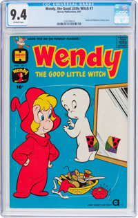 Wendy, the Good Little Witch #7 (Harvey, 1961) CGC NM 9.4 Off-white pages
