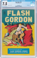 Golden Age (1938-1955):Science Fiction, Four Color #173 Flash Gordon (Dell, 1947) CGC VF- 7.5 Off-white towhite pages....
