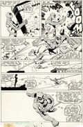 Original Comic Art:Panel Pages, Frank Miller and Bob Wiacek Marvel Team-Up #100 Story Page 6Spider-Man and Karma Original Art (Marvel, 1980)....