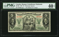 Canadian Currency: , Montreal, PQ- Banque Canadienne Nationale $5 Jan. 2, 1935 Ch. #85-14-02.. ...