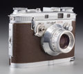 Decorative Arts, American, A Bell & Howell Foton 35mm Camera, circa 1948. 3-7/8 h x5-7/8 w x 2-3/4 d inches (9.8 x 14.9 x 7.0 cm). ...