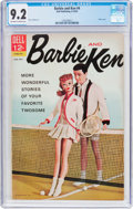 Silver Age (1956-1969):Romance, Barbie and Ken #4 (Dell, 1963) CGC NM- 9.2 Off-white to whitepages....