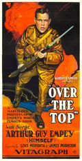 "Movie Posters:War, Over the Top (Vitagraph, 1918). Three Sheet (41.25"" X 80"") FredricC. Madan Artwork.. ..."
